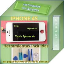 Pantalla Display Iphone 4s Lcd Touch Digitalizador Blanco