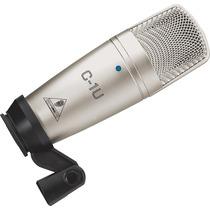 Microfono De Condensador De Estudio Behringer C1-u Con Usb