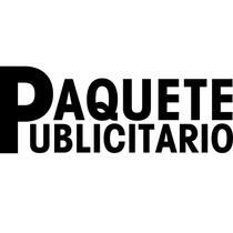 Paquete Publicitario Efectivo. Promoción Publicidad Eficaz