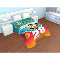 Cobertor Doble Borrego Individual Mickey