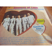 Lp The Four Seasons.. Of Love, Envio Gratis