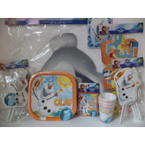 Frozen Olaf Fiestas Vasos Platos Invitaciones Letrero Dulcer