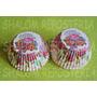 *capacillos Blancos Campanita Flores Disney Cupcake Fondant*