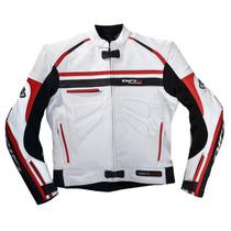 Chamarra Motociclismo De Piel Difi San Carlos Talla S A Xxl