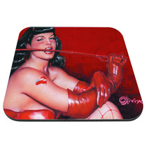 Mouse Pad Bettie Page - Látigo Queen Of Pinups Poster 50