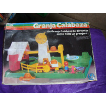 Juguetes Lili Ledy Kinder Mundo Granja Calabaza 1980, Como N