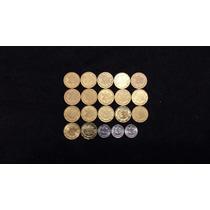 Coleccion 20 Monedas 20 Centavos 1992-2008 Y 2010-2012