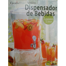 Dispensador De Aguas Frescas Vitrolero Creativeware 11 Lts