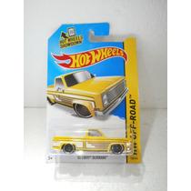 Hot Wheels Camioneta 83 Chevy Silverado Amarill 136/250 2014