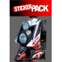 Calcamonias Sticker Pack Para Yamaha Bws 100 / 125