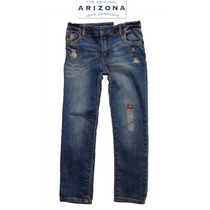 Jeans Nina 6 Anos Stretch Pantalones Mezclilla Arizona Bello