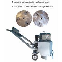 Maquina Desbaste Pulido Pisos Diamantado Desbaste Concreto