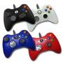 Control Alambrico Xbox 360 Disponible En Blanco Generico
