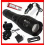Lampara Tactica 2000 Lumens Cree Led Xlm-t6 Recargable Op4