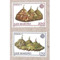 República De San Marino Europa Cept Nuevas