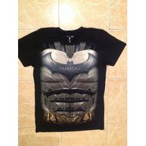 Batman Playera Injustice Talla S,m,lyxl Original Dc Comics