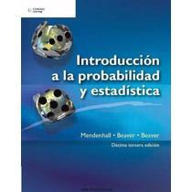 Libro: Introducción A La Probabilidad Y Estadística Pdf