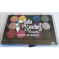 Paleta 12 Colores Sombras - 04- Julia Sanchez
