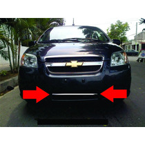 Moldura Cromada Baja Chevrolet Aveo 2009 - 2011 Vbf