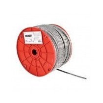 Cable De Acero Sin Forro 1/4 , 75 Mts Vv4