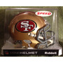 Nfl San Francisco 49ers Mini Casco Modelo Speed By Riddell