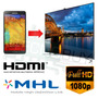 Convertidor Usb Mhl A Hdmi - Conecta Tu Teléfono A Tv Hd