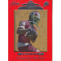 1999 Absolute Ssd Rookie Red Champ Bailey Cb Redskins
