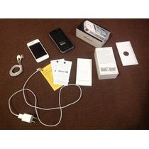 Iphone 4s 16 Gb Con Funda De Bateria Extra Mophie