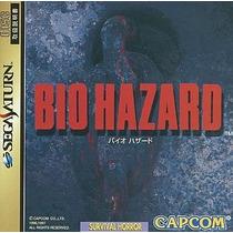 Bio Hazard Sega Saturn Japonesa