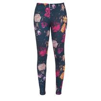 Leggings Flores Talla Mediana Moda Urbana