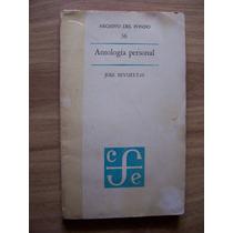 Antología Personal-aut-josé Revueltas-edit-f.c.e.-vbf