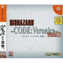 Bio Hazard Code Veronica Dreamcast Japonesa