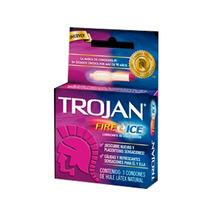 Trojan Trojan Fire & Ice Caja C/3 Sensitivos Caballero