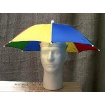 Sombrilla Sombrero Con Sujetadosr Elastico
