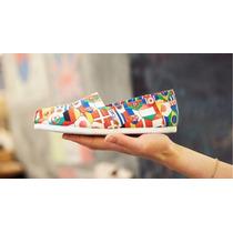Zapatos Toms Para Adulto Y Ninos Nuevo Modelo Bandera