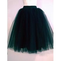 Faldas De Tul 70cm De Largo Todas Las Talla,todosloscolores