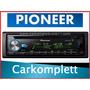 Autoestereo Pioneer Deh-x6900bt Bluetooh Usb Aux Mp3 Cd