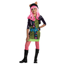 Monster High Traje - Howleen Girls Medio Vestido De Lujo