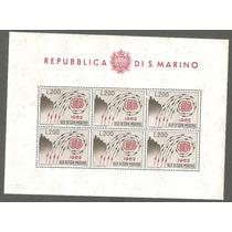 Hojita República De San Marino Europa Cept
