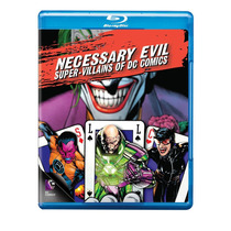 Bluray Necessary Evil Super Villanos Dc Comic + Regalo