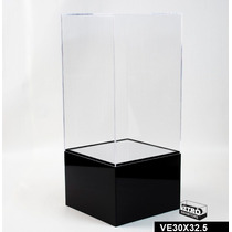 Exhibidor De Acrílico Para Coleccionables 20x32.5 Cms