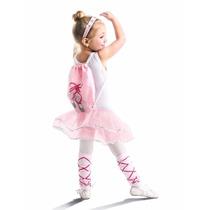 Disfraz De Bailarina Para Niñas Con Accesorios Ballerina