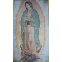 Litografia Original Virgen De Guadalupe 66cm