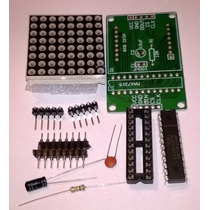 Kit De Matríz De Led 8x8, Arduino, Pic, Avr