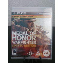 Medal Of Honor Warfighter Limited Edition Ps3 Nuevo Citygame