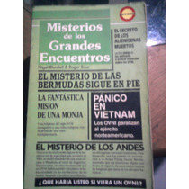 Libro Misterios De Los Gandes Encuentros Fenomenos Ovnis