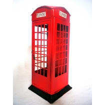 Alcancia Cabina Telefonica Londres Metal