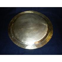 Charola En Bronce, Plateada De Principios Siglo 20 . 39cms.