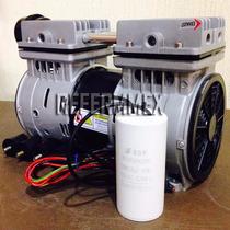 Cabezal Compresor Libre Aceite 1 Hp Silencioso Garantia 1año