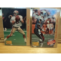 Nfl Fan Sf_49ers 2tarjetas Team Set Pc93 Nvas Diferentes